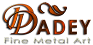 Dadey Fine Metal Art Logo