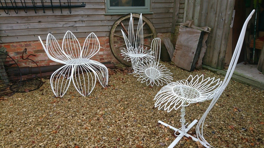 Flower Chairs & Benches