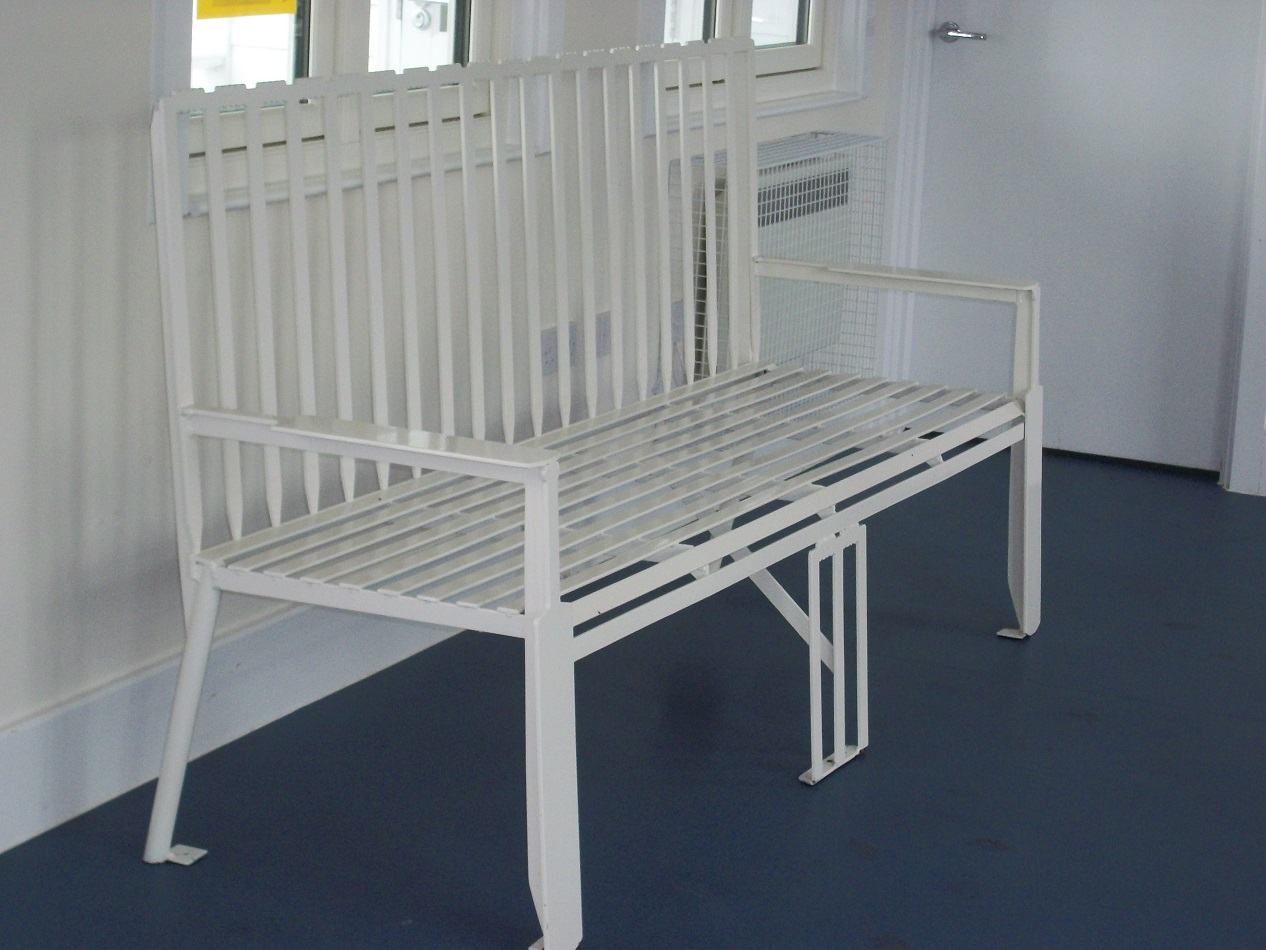 Cricket Pitch Benches