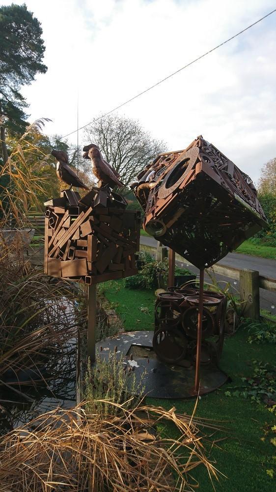 Scrapyard Art Cubes