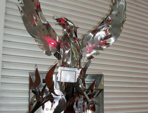 Phoenix – Recycling Exhibition Piece – Excel