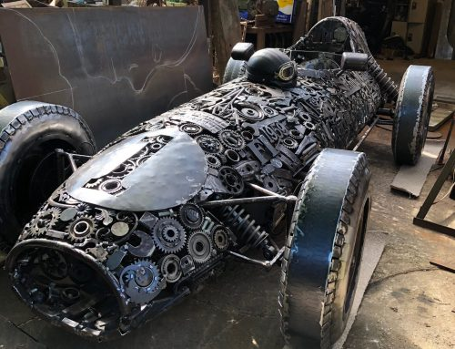 Lotus 16 Formula 1 1959 – recycled car parts