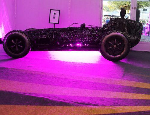 Lotus 16 Formula 1 1959 – recycled car parts